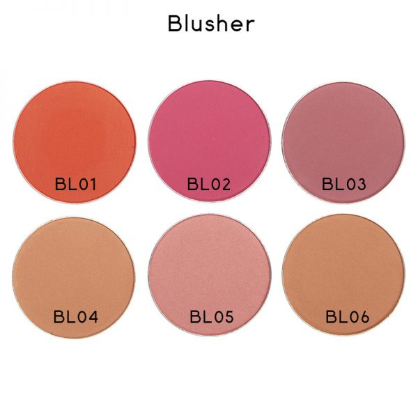 blusher color code
