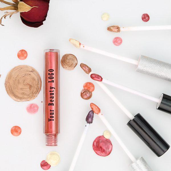 Private label glitter lip gloss