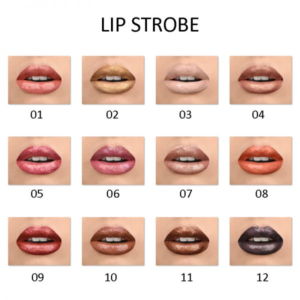 lip strobe colors on lips