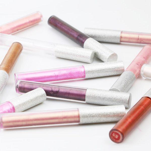lip strobe in glitter cap