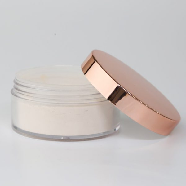 loose setting powder rose gold jar