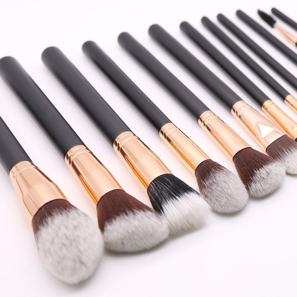 Classic Makeup Brush Rose Gold