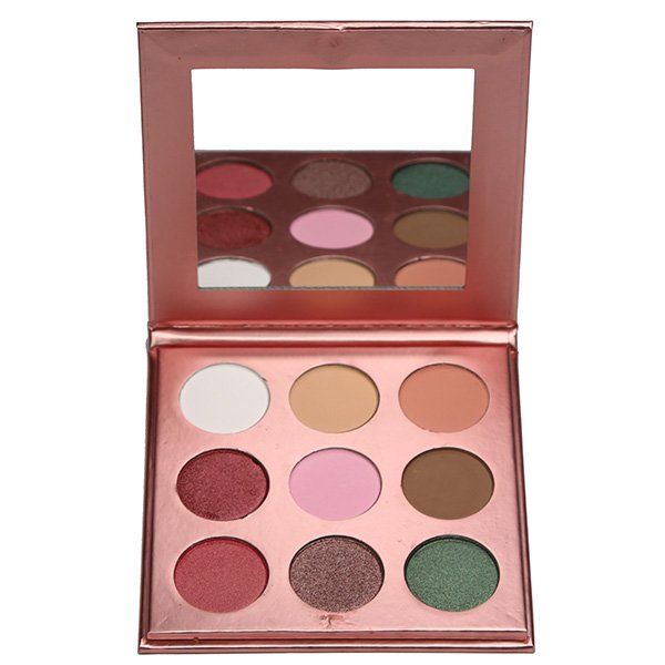 Eyeshadow Palette: BC18 (9 colors, Fixed)