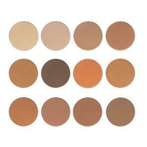 Contour Pressed Powder Single Palette (Single, 12 colors)