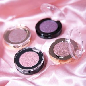 Single Normal Eyeshadows (163 colors, Black or Rose gold jar)