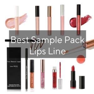 Best sample pack lips line