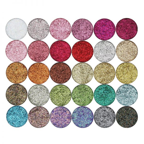 Pressed glitter all colors