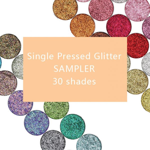 Single Pressed glitter all colors