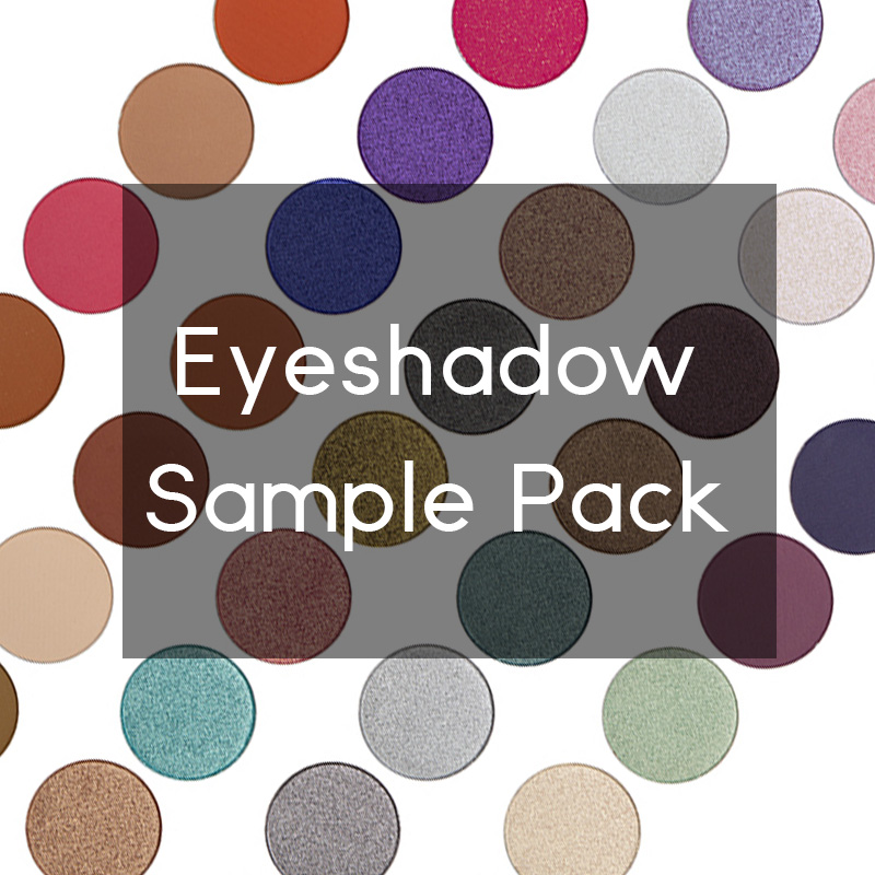 eyeshadow sample pack
