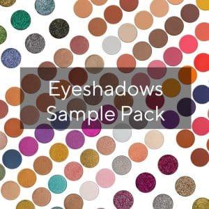 eyeshadow sample pack