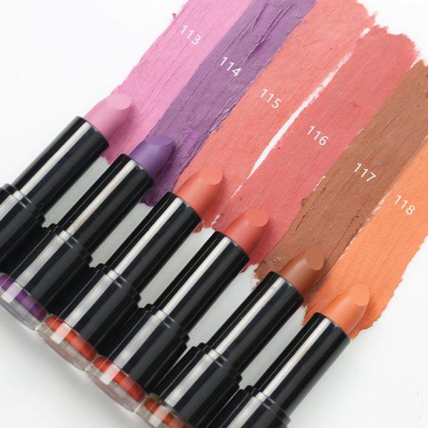 matte lipstick color 113-118