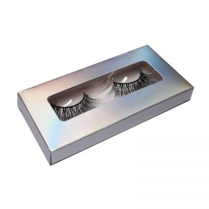 holographic single eyelashes box