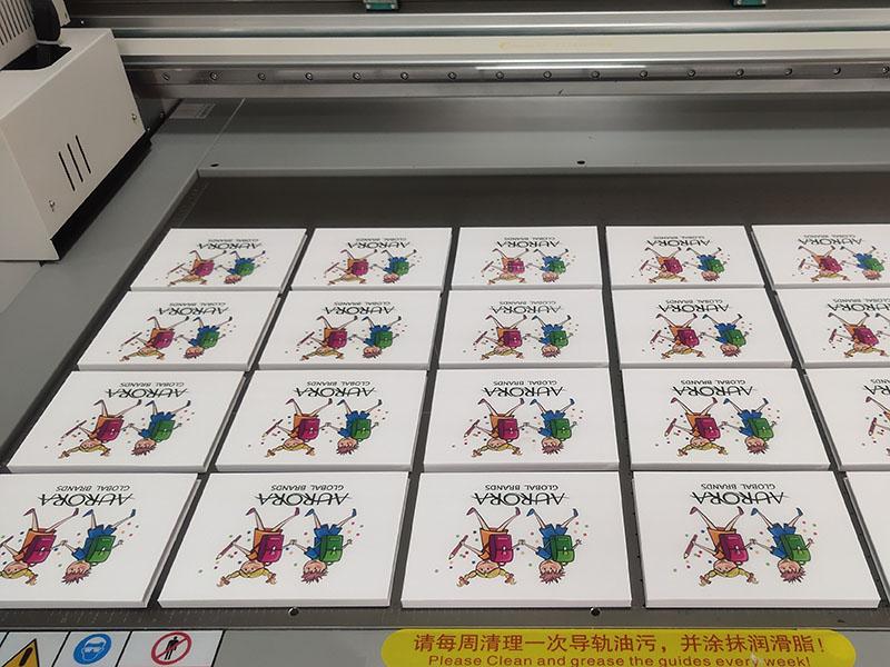 UV print work space