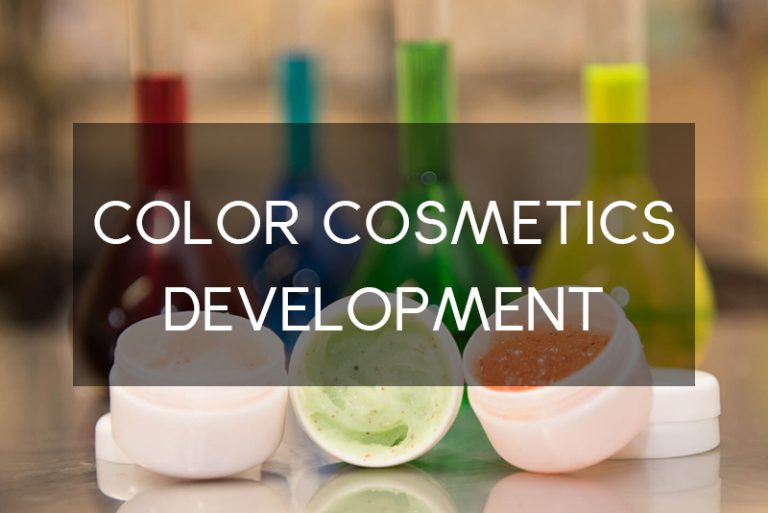 color cosmetics development