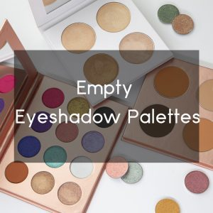 empty eyeshadow palette