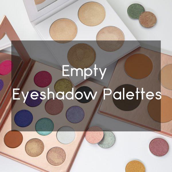 empty eyeshadow palette