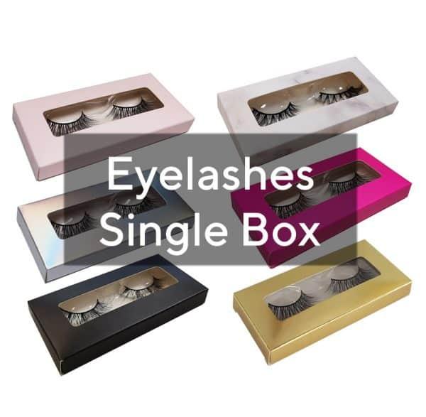 eyelashes single box