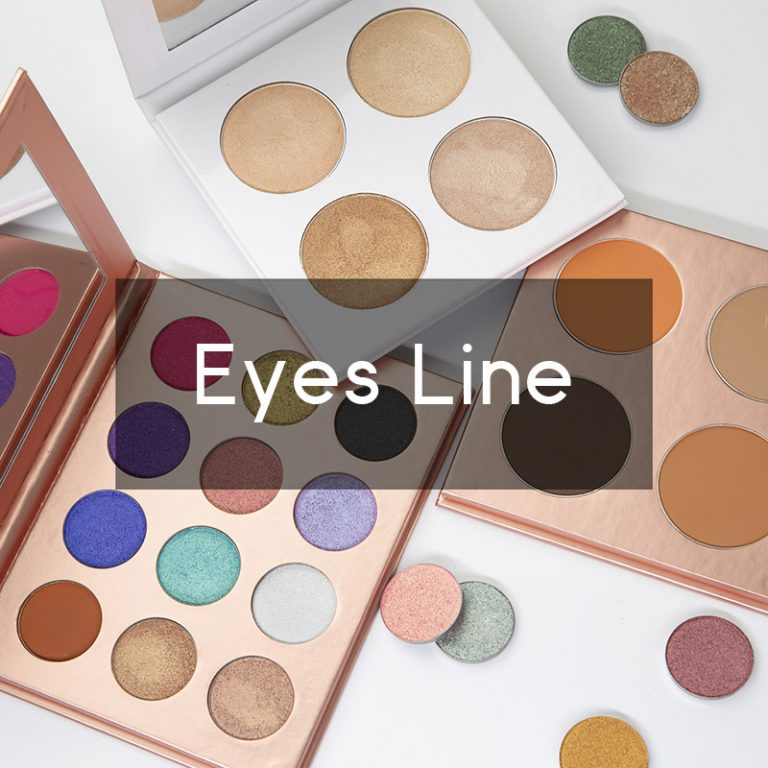 Private label eyes makeup
