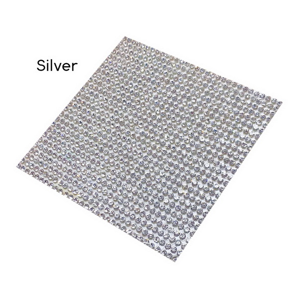 diamond sticker-silver