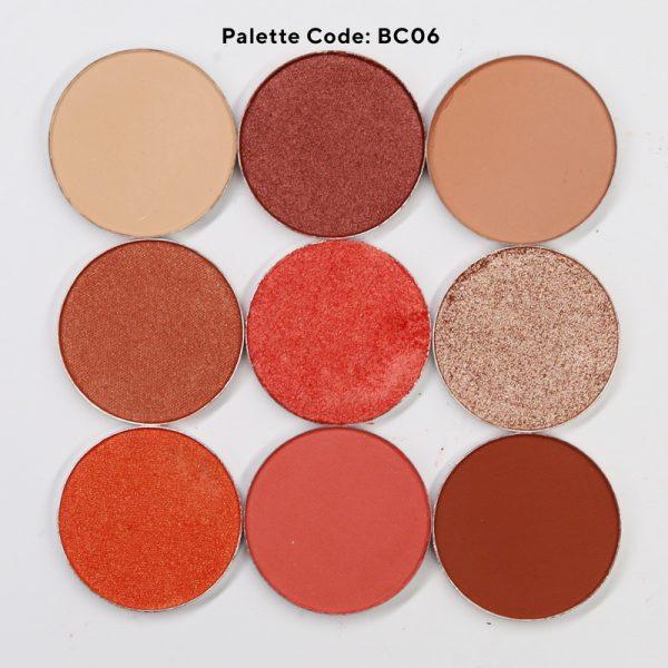 BC06-9 color eyeshadow palette