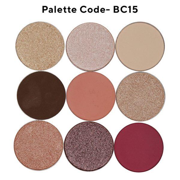 BC15-9 shades eyeshadow palette