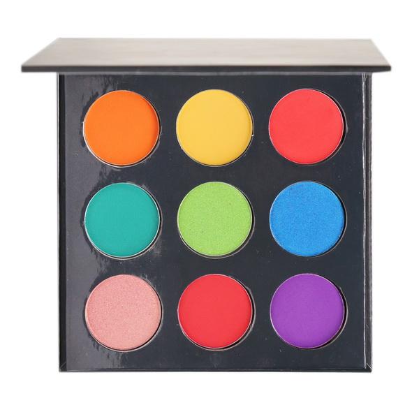 Black eyeshadow palette