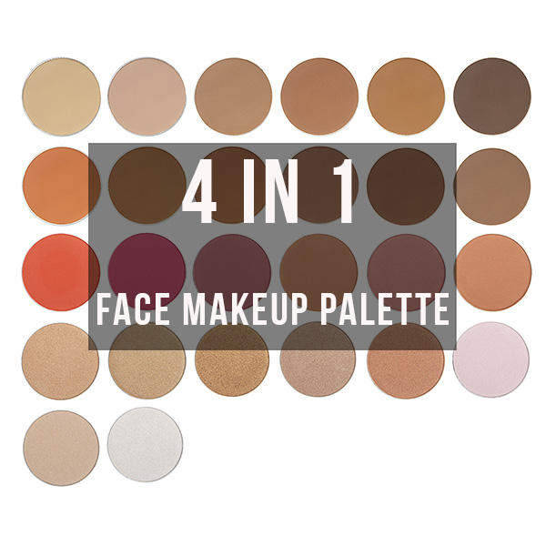 4 in 1 face makeup palette