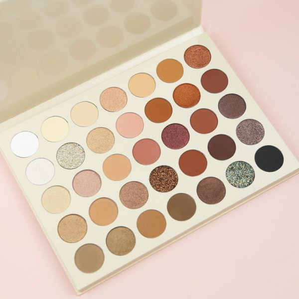 35 shades nude eyeshadow palette