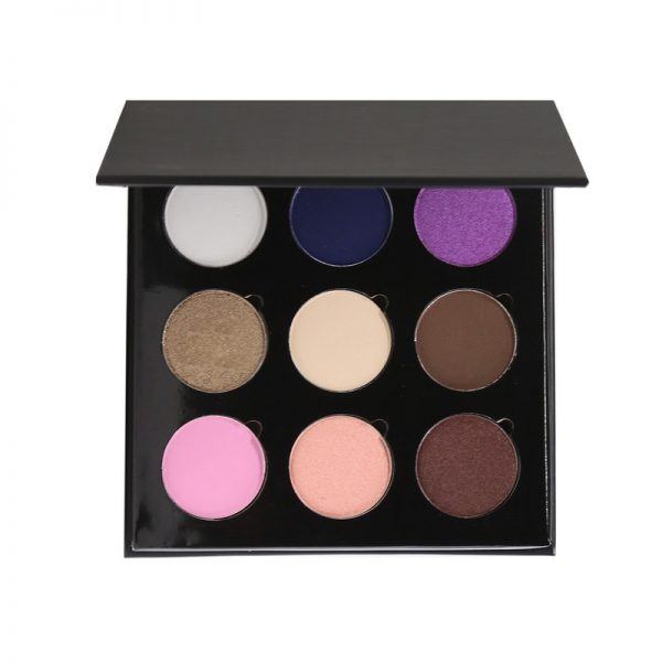 9 color filled eyeshadow palette