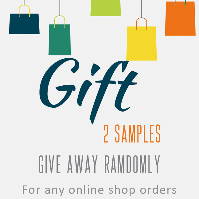 Give away samples