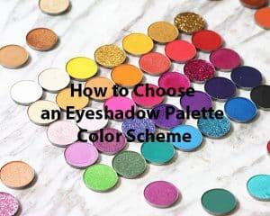 eyeshadow palette color scheme